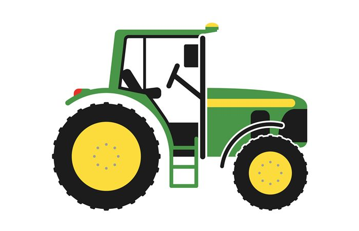 Green Tractor Birthday Party Theme
